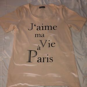 T shirt from France